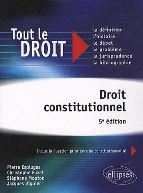 Droit constitutionnel - 5e édition