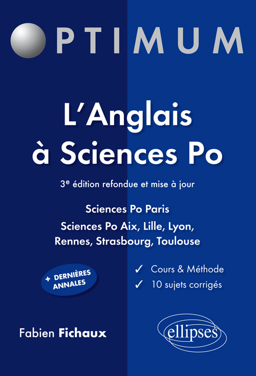 L'anglais � Sciences po - 3e �dition