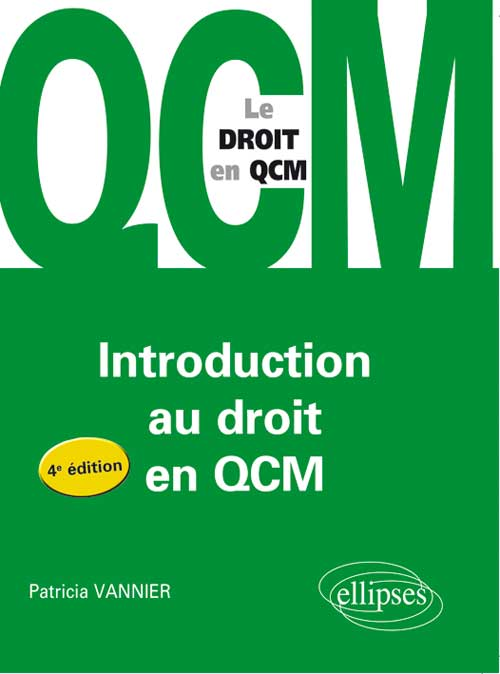L'introduction au droit en QCM. 4e édition