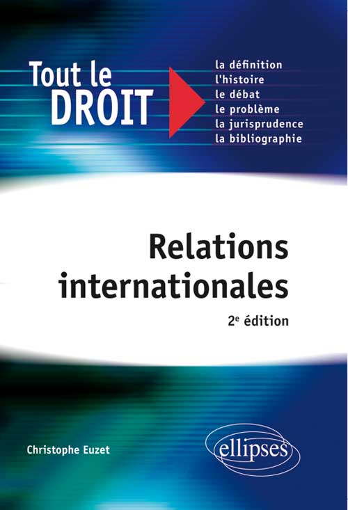 Relations internationales. 2e édition