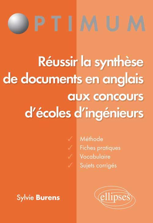 r u00e9ussir la synth u00e8se de documents en anglais aux concours d u2019 u00e9coles d u2019ing u00e9nieur