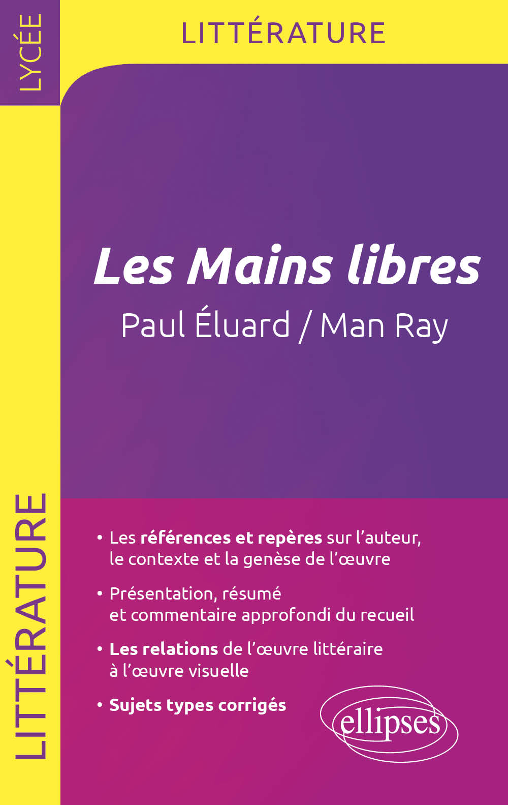 Les Mains libres, Paul Eluard / Man Ray