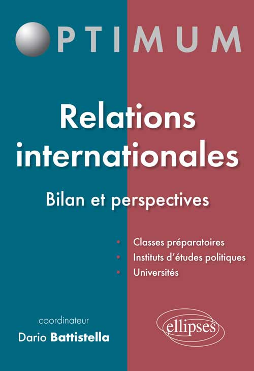 Relations internationales - Bilan et perspectives
