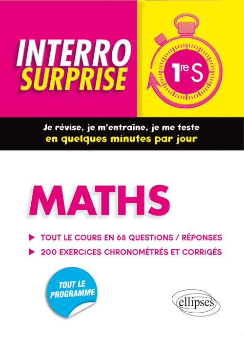 Maths - Premi�re S