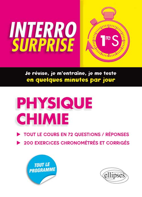 Physique chimie - Premi�re S